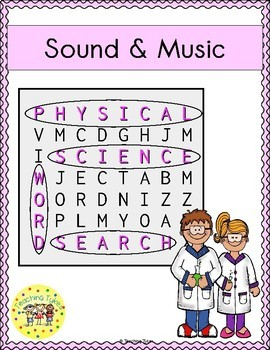 Sound and Music Word Search