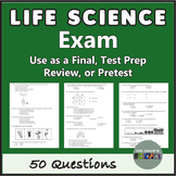 Life Science and Biology Exam Test Prep