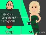 Life-Size Core Board -Fitzgerald