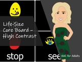 Life-Size Core Board - High Contrast