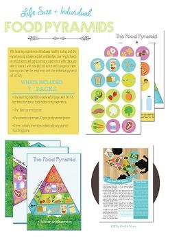Life Size Food Pyramid