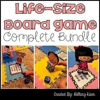 Life-Size Board Games (Complete Bundle)