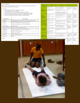 NGSS Life Science, Body Systems Activity - Life Size Me