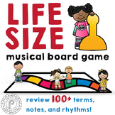 Life Size Music Board Game: 100+ theory terms