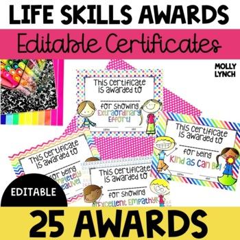 Life Skill Awards