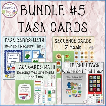BUNDLE #5 Task Cards