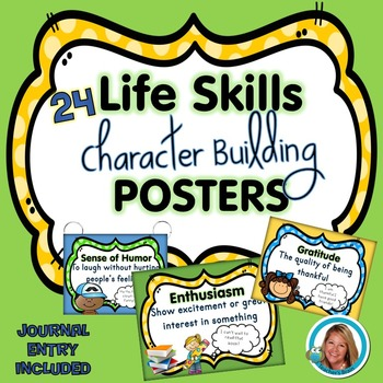 Life Skills Activities Character Building Posters