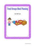 Life Skill Food Groups Independent Learning Center