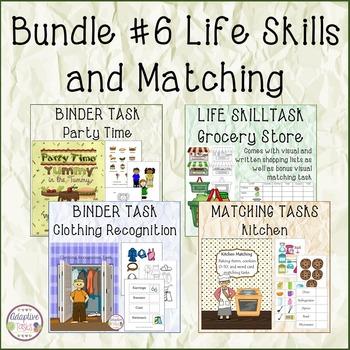 BUNDLE #6 Life Skills and Matching