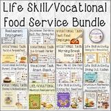 Life Skill/Vocational Food Service Bundle