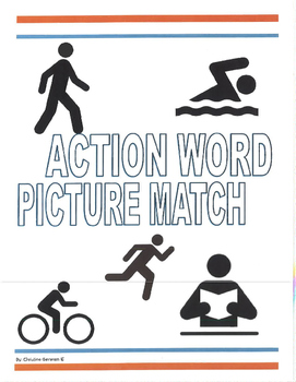 Life Skills- Actions Picture Match (generalizing) file fol