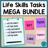 Life Skills Special Education Activities BUNDLE