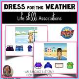 Life Skills Activity Dress for Weather BOOM distance learn
