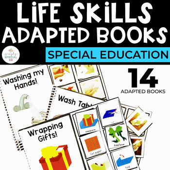 Life Skills Adapted Books