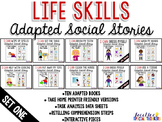 Life Skills Adapted Social Stories: Set One