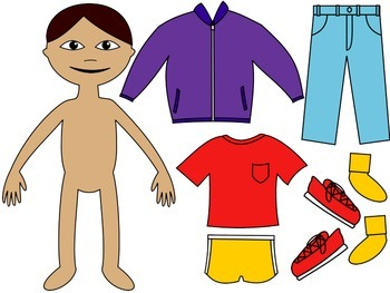 Life Skills Adapted Social Story: I Can Dress Myself {BOY Version}