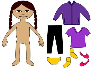 Life Skills Adapted Social Story: I Can Dress Myself {GIRL Version}