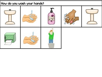 Life Skills Adapted Social Story: I Can Wash My Hands
