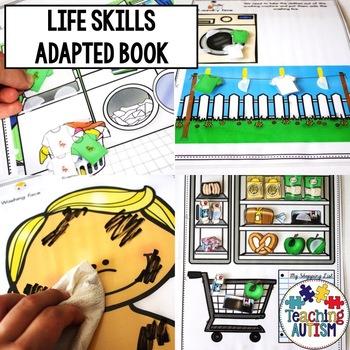 Life Skills Adapted Work Folder