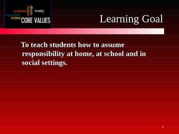 Mastering Life Skills for Students - Assuming Responsibility