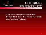 Mastering Life Skills for Students - Assuming Responsibility