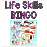 Life Skills BINGO Games for Special Education Leveled Game