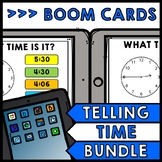 Life Skills - BOOM CARDS - Time - Special Education - Telling Time - BUNDLE