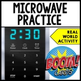 Life Skills - BOOM CARDS - Cooking - Using a Microwave - F