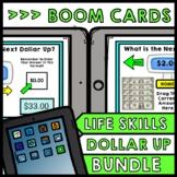 Life Skills - BOOM CARDS - Money - Dollar Up - Special Edu