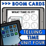 Life Skills - BOOM CARDS - Time - Elapsed Time - Special Education - Unit Four