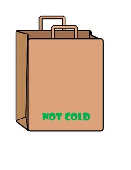 Life Skills: Bagging Groceries File Folder Game