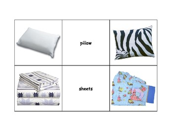 Life Skills: Bedroom Items