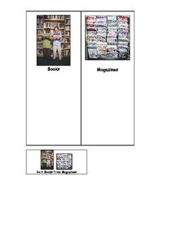 Life Skills: Books vs. Magazines