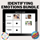 Life Skills Boom Cards™ Identifying Emotions-Real Pictures