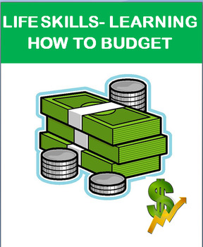 Budgeting and Basic Financial Responsibility, lesson, budg