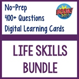 Life Skills Bundle- Digital Task Cards Boom Cards Distance