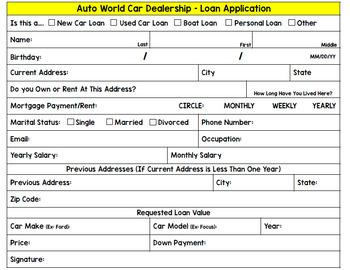 Life Skills - Buying a Car - Car Payments - Insurance - Driving - Budget