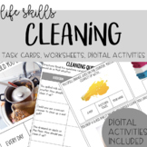 Cleaning Task Cards - Life Skills, Vocational Skills