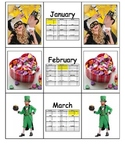 Special Education: Calendar Months of the Year