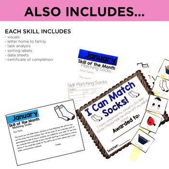Life Skills Centers: Year Long Life Skills Bundle
