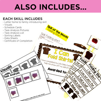 Life Skills Centers: Year Long Life Skills Bundle EXTENTION PACK
