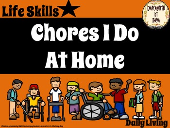 Life Skills - Chore Pictures