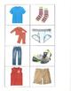 Life Skills- Clothing Picture Match (generalizing) file folder game