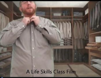 Life Skills Clothing Volume 3 Video Quiz Button Down Shirts