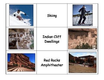 Special Education: Colorado Icons Match
