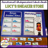 Life Skills- Colors File Folder Activity: Matching Sneaker