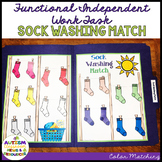 Life Skills- Colors File Folder Activity: Matching Socks o