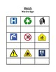 Life Skills Community Signs Activity Book: Featuring 5 Sort or Match Activities