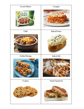 Life Skills: Cooked vs. Uncooked Sorting