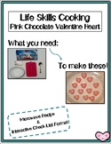 Life Skills Cooking Chocolate Valentine's Hearts
